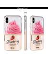 Paperworks Strawberry Froyo iPhone Case - iPhone Case