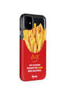 Paperworks® Mcd Inspired iPhone 11 Case - Black Soft Surface Material / iPhone 11 - iPhone Case