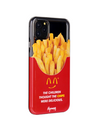 Paperworks® Mcd Inspired iPhone 11 Case - Black Soft Surface Material / iPhone 11 Pro Max - iPhone Case