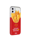 Paperworks® Mcd Inspired iPhone 11 Case - White Soft Surface Material / iPhone 11 - iPhone Case