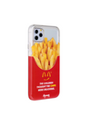 Paperworks® Mcd Inspired iPhone 11 Case - White Soft Surface Material / iPhone 11 Pro - iPhone Case