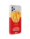 Paperworks® Mcd Inspired iPhone 11 Case - White Soft Surface Material / iPhone 11 Pro Max - iPhone Case