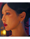 The Penthouse Kim So-yeon Inspired Earrings 010 - ONE SIZE ONLY / Silver - Earrings