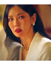 The Penthouse Kim So-yeon Inspired Earrings 022 - ONE SIZE ONLY / Gold - Earrings