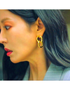 The Penthouse Kim So-yeon Inspired Earrings 023 - ONE SIZE ONLY / Gold - Earrings