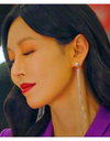 The Penthouse Kim So-yeon Inspired Earrings 027 - ONE SIZE ONLY / Silver - Earrings