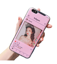Personalized Instagram Frame iPhone Case - iPhone 6 / Pink - iPhone Case