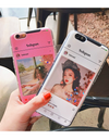 Personalized Instagram Frame iPhone Case - iPhone Case