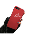 Personalized Name iPhone Case - Burgundy / iPhone 6 - iPhone Case