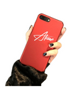 Personalized Name iPhone Case - Red / iPhone 6 - iPhone Case