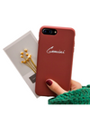 Personalized Name iPhone Case (iPhone XS and XS Max) - Brown / iPhone XS - iPhone Case