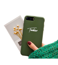 Personalized Name iPhone Case (iPhone XS and XS Max) - Green / iPhone XS - iPhone Case