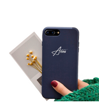 Personalized Name iPhone Case (iPhone XS and XS Max) - Navy / iPhone XS - iPhone Case