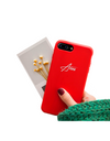 Personalized Name iPhone Case (iPhone XS and XS Max) - Red / iPhone XS - iPhone Case