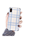 Plaid iPhone Case - iPhone 6 / Blue - iPhone Case