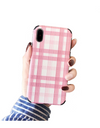 Plaid iPhone Case - iPhone 6 / Pink - iPhone Case