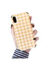 Plaid iPhone Case - iPhone 6 / Yellow - iPhone Case