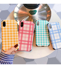 Plaid iPhone Case - iPhone Case