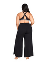 Plus Size Girl Boss Flare Pants - Bottoms