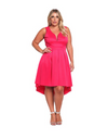 Plus Size Lucid Dreams Dress - Pink / XL - Dresses