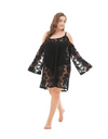 Plus Size Throwover Dress - Dresses