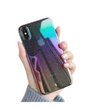 Rainbow Droplets iPhone Case