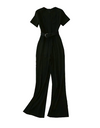 Record of Youth Park So-dam Inspired Jumpsuit - S / Black - Jumpsuits