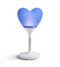 Robot Heart Lamp - ONE SIZE ONLY / Blue / Heart Shape - Gifts