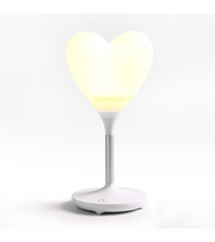 Robot Heart Lamp - ONE SIZE ONLY / White / Heart Shape - Gifts