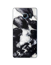Samsung Galaxy Texture Case - Black Ink Dripped In Water / for Galaxy A3 A3000 - Samsung Case