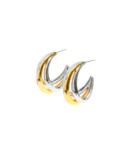 Search: WWW Lee Da Hee Inspired Earrings 016 - ONE SIZE ONLY / Silver - Earrings