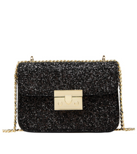 Sequin Crossbody Bag - Black / ONE SIZE ONLY - Bags