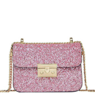Sequin Crossbody Bag - Pink / ONE SIZE ONLY - Bags