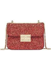 Sequin Crossbody Bag - Red / ONE SIZE ONLY - Bags