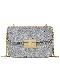 Sequin Crossbody Bag - SIlver / ONE SIZE ONLY - Bags