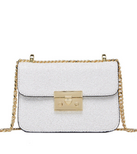 Sequin Crossbody Bag - White / ONE SIZE ONLY - Bags