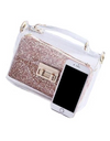 Sequin Plastic Crossbody Bag - Bags