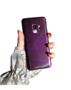 Shades of Purple Samsung Case With Popsocket - Samsung Case