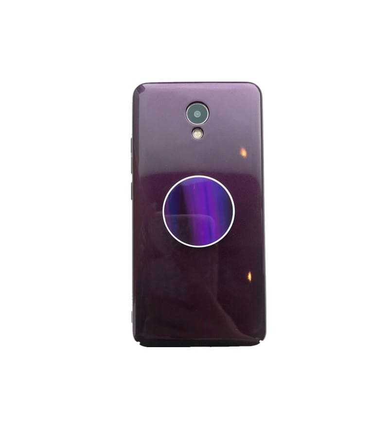 reputable site ebcfe 410ab Shades of Purple Samsung Case With Popsocket - Purple / Note 8
