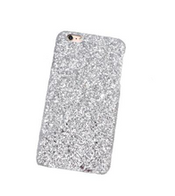 Shine Bright Like A Diamond iPhone Case (Without Protective Surface) - Silver / iPhone 6 Plus - iPhone Case