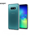 Spigen® Authentic Galaxy S10e / S10 / S10+ Phone Casing - S10e / Transparent / Hard Case - Samsung Case