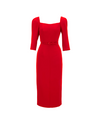 Start Up Kang Han-na Inspired Dress 001 - S / Red / Produced only in 20 days' time - Dresses