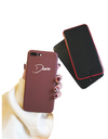 Synthetic Leather Personalized iPhone Case - iPhone Case