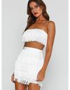 Tassel Two-Piece Dress - Dresses
