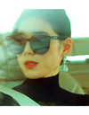 The King: Eternal Monarch Jung Eun-chae Inspired Sunglasses 002 - ONE SIZE ONLY / Black - Sunglasses
