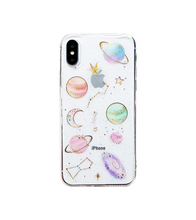 The Moon The Stars and The Galaxy iPhone Case - iPhone 6 / Transparent - iPhone Case