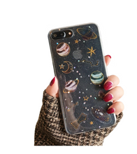 The Moon The Stars and The Galaxy iPhone Case - iPhone Case