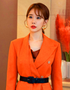 The Spies Who Loved Me Yoo In-na Inspired Jacket 002 - XS / Orange / Produced only in 20 days' time - Jackets