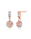 The World of The Married Han So-hee Inspired Earrings 001 - ONE SIZE ONLY / Rose Gold - Earrings