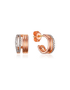 The World of The Married Kim Hee-ae Inspired Earrings 014 - ONE SIZE ONLY / Rose Gold - Earrings